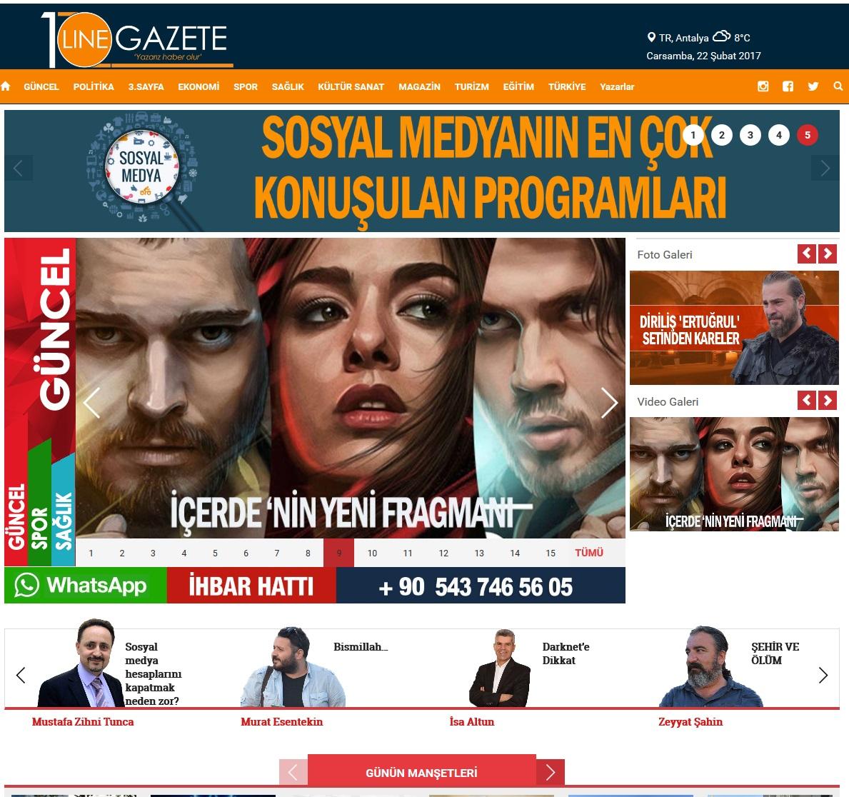 10linegazete.com