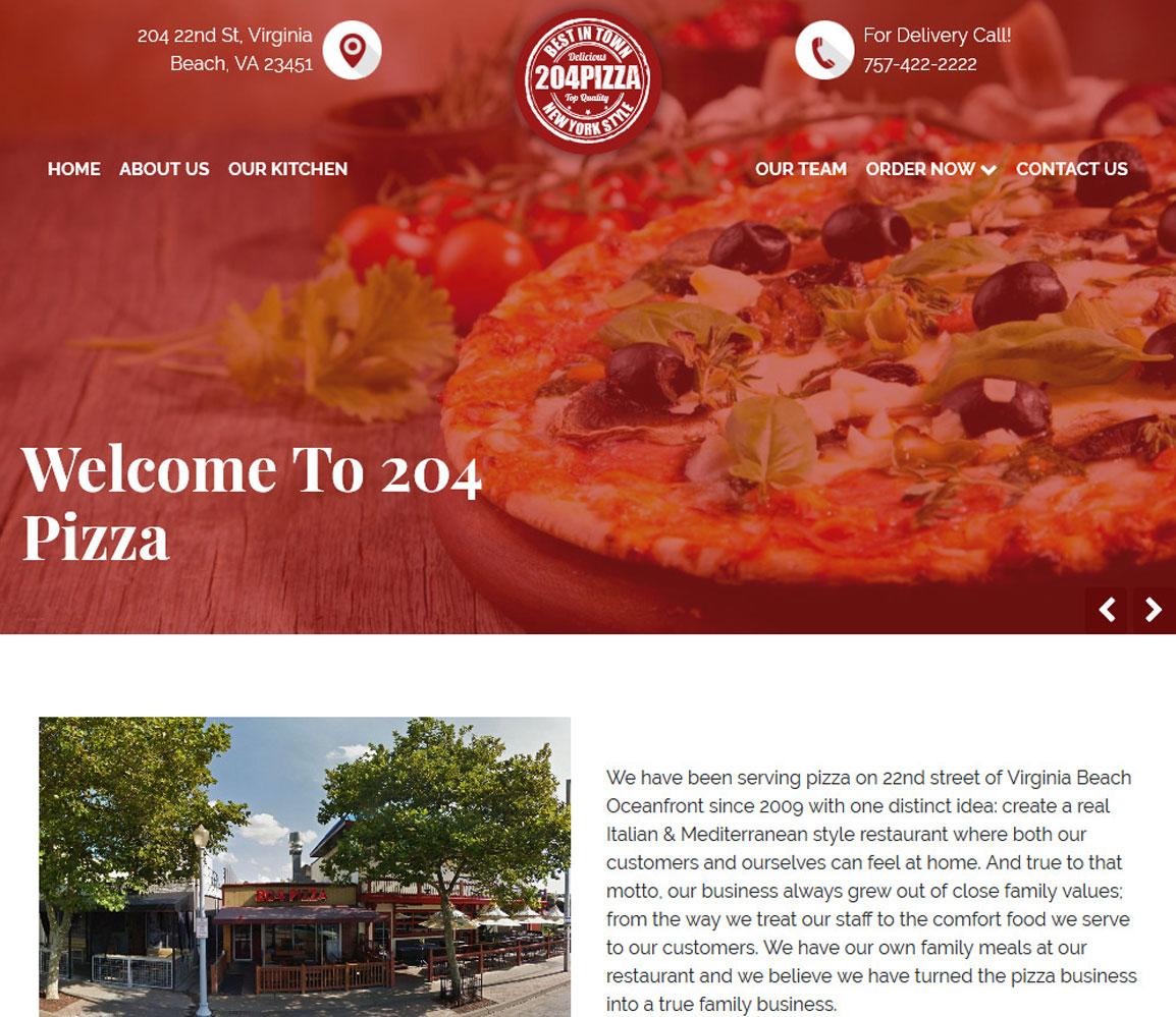 204 Pizza   Virginia Beach, Virginia