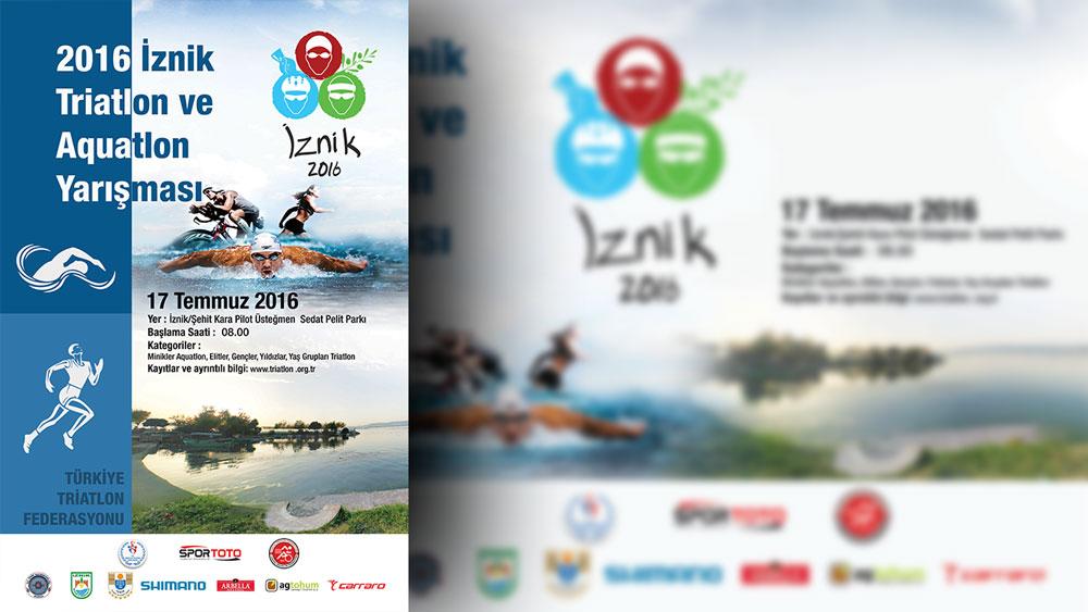 Türkiye Triatlon Federasyonu İznik Afiş