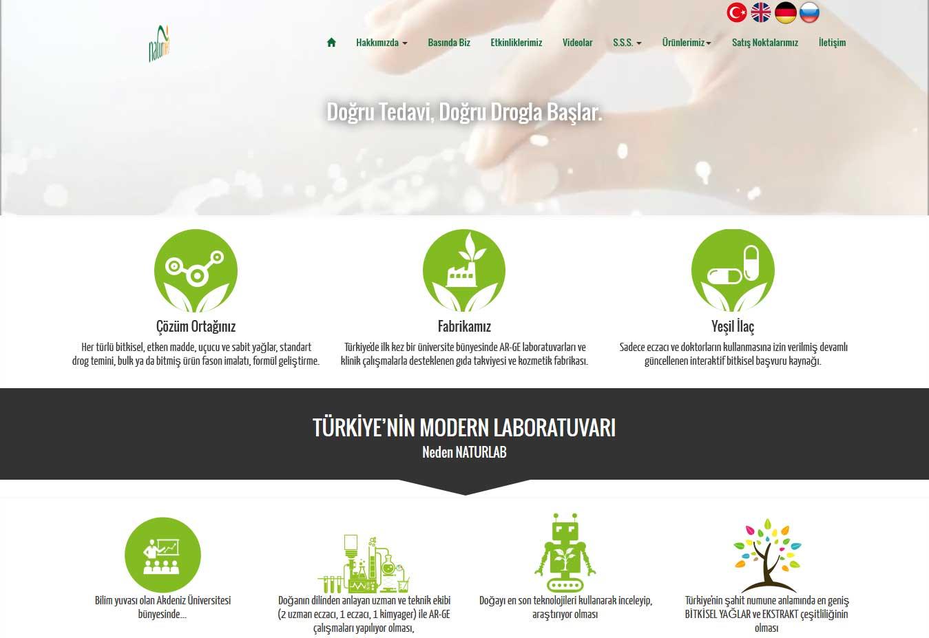 Naturmed Web Sitesi