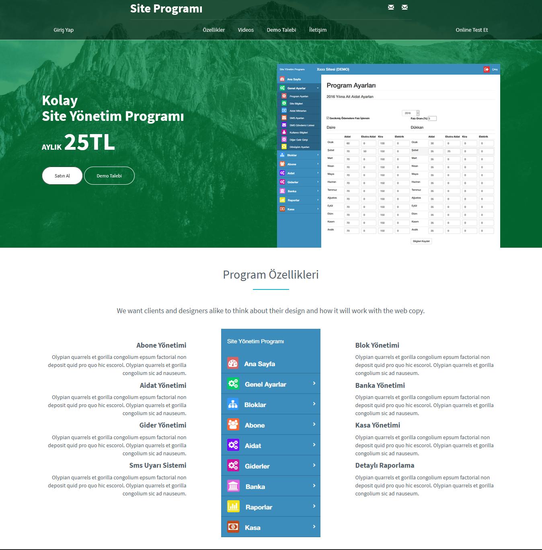 Site Programi.net Landing